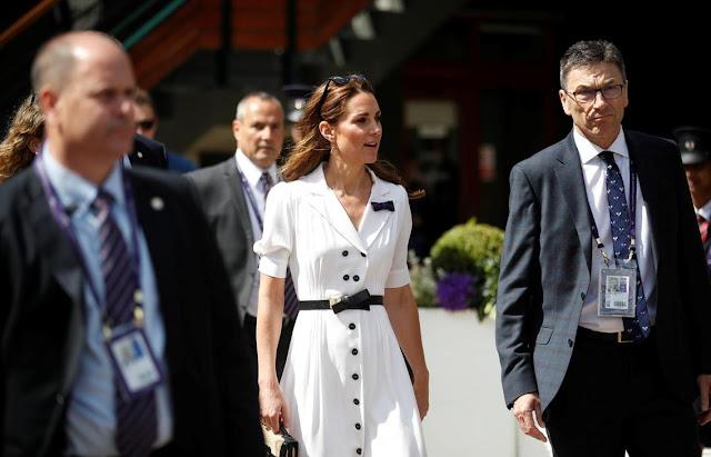 Księżna Kate na Wimbledonie + relacja z całego tegorocznego turnieju
