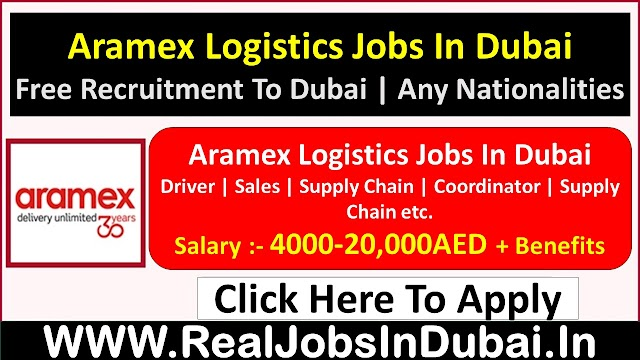 Aramex Hiring Staff In Dubai  UAE 2021
