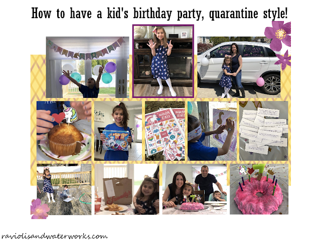 children's birthday party ideas; quarantine birthday party ideas; isolated birthday party; birthday celebration; how to have a kid's birthday in quarantine; corona birthday party