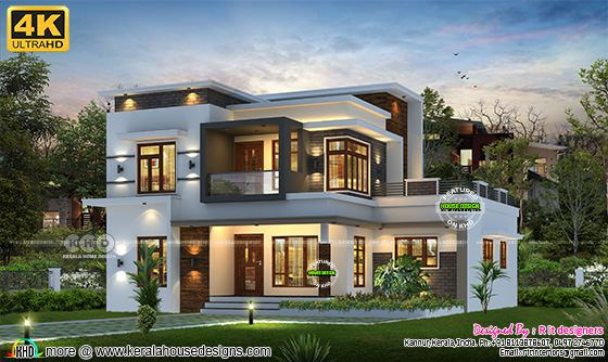 4 bedroom contemporary house