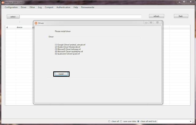 Non-Installer Xiaomi Flash Tool Driver