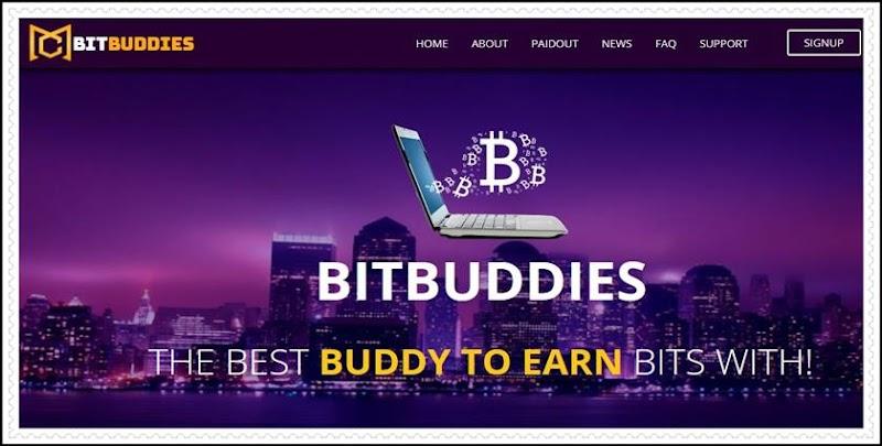 Мошеннический сайт bitbuddies.biz – Отзывы, развод, платит или лохотрон? Мошенники