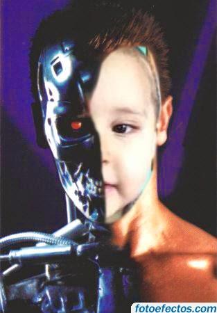 Hijo en montaje de Terminator