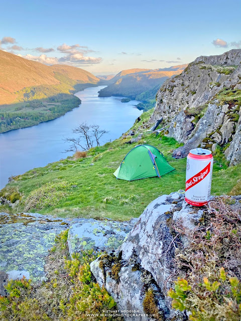 Wild camping lake district best spots tent Helm 2 compact review