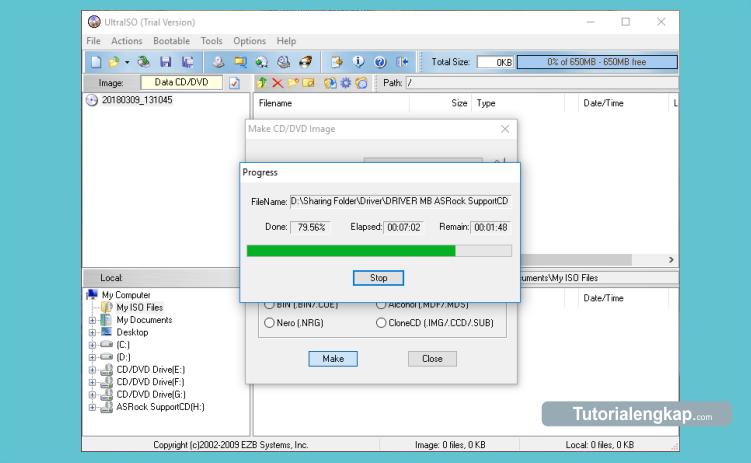 cara merubah dvd menjadi file iso dengan mudah