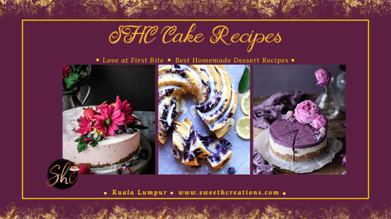 SHC CAKE RECIPES