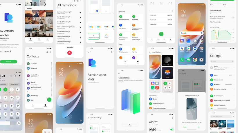 OPPO officially launches Android 12-based ColorOS 12 Global Version
