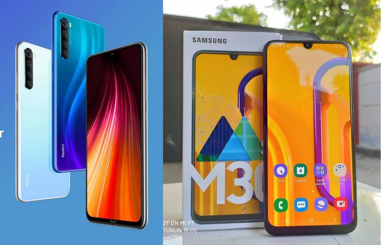 Pertarungan Xiaomi Redmi Note 8 vs Samsung Galaxy M30s, Mana yang Lebih Unggul?