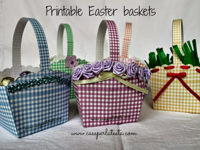 printable easter basket