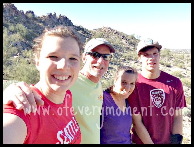 Family time in Arizona