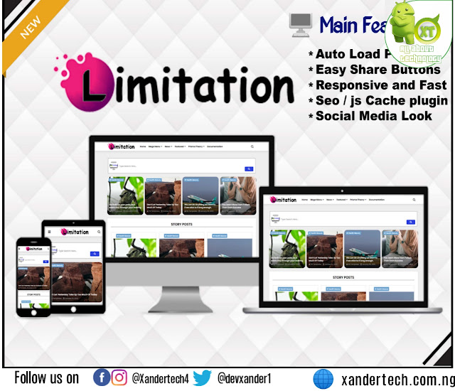 Download Limitation - Responsive Blogger Template(FREE)