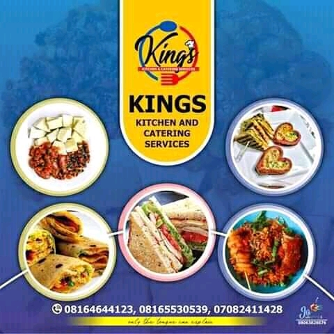 [Catering] King's Kitchen and Catering Services #Arewapublisize