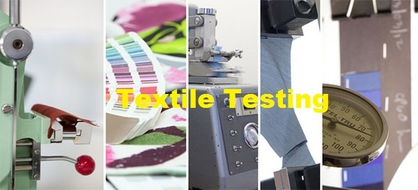 Different textile testing
