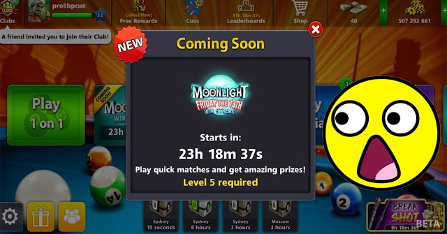 Moonlight 8 ball pool