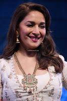 Madhuri Dixit Nene in designer Anarkali Dress at FICCI Awards 2017 005.JPG