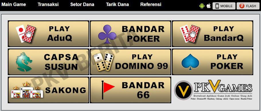 Berbagai Pilihan Game Yang Mirip Dengan Permainan Di Casino