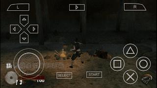 Bermain game PSP di Android