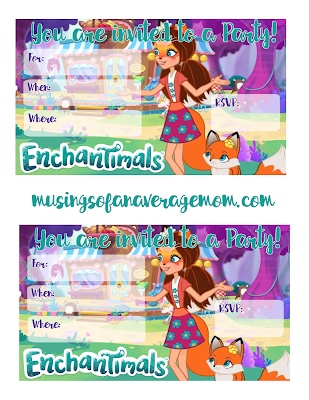 Enchantimals party ideas