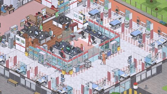 مشروع-مستشفى-كمبيوتر-لقطة شاشة www.ovagames.com -1