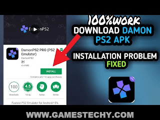 Damon Ps2 Pro Emulator 1.2.11 Android Apk