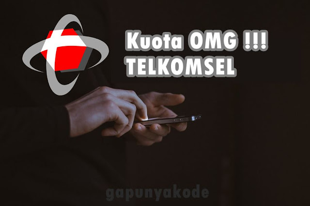 Cara Menggunakan Kuota OMG ! Telkomsel Terbaru