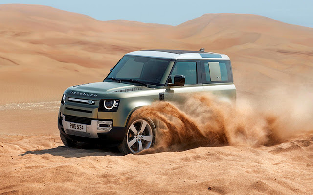 """""""Land Rover"""" có nghĩa là kẻ lang thang trên mặt đất"""