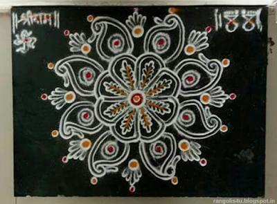 Multi design Rangolis