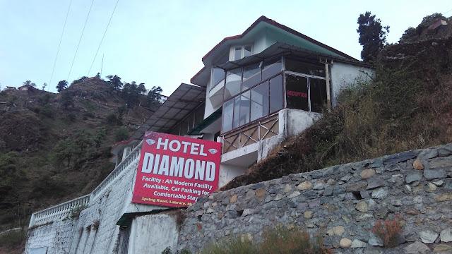 hotel diamond, mussoorie