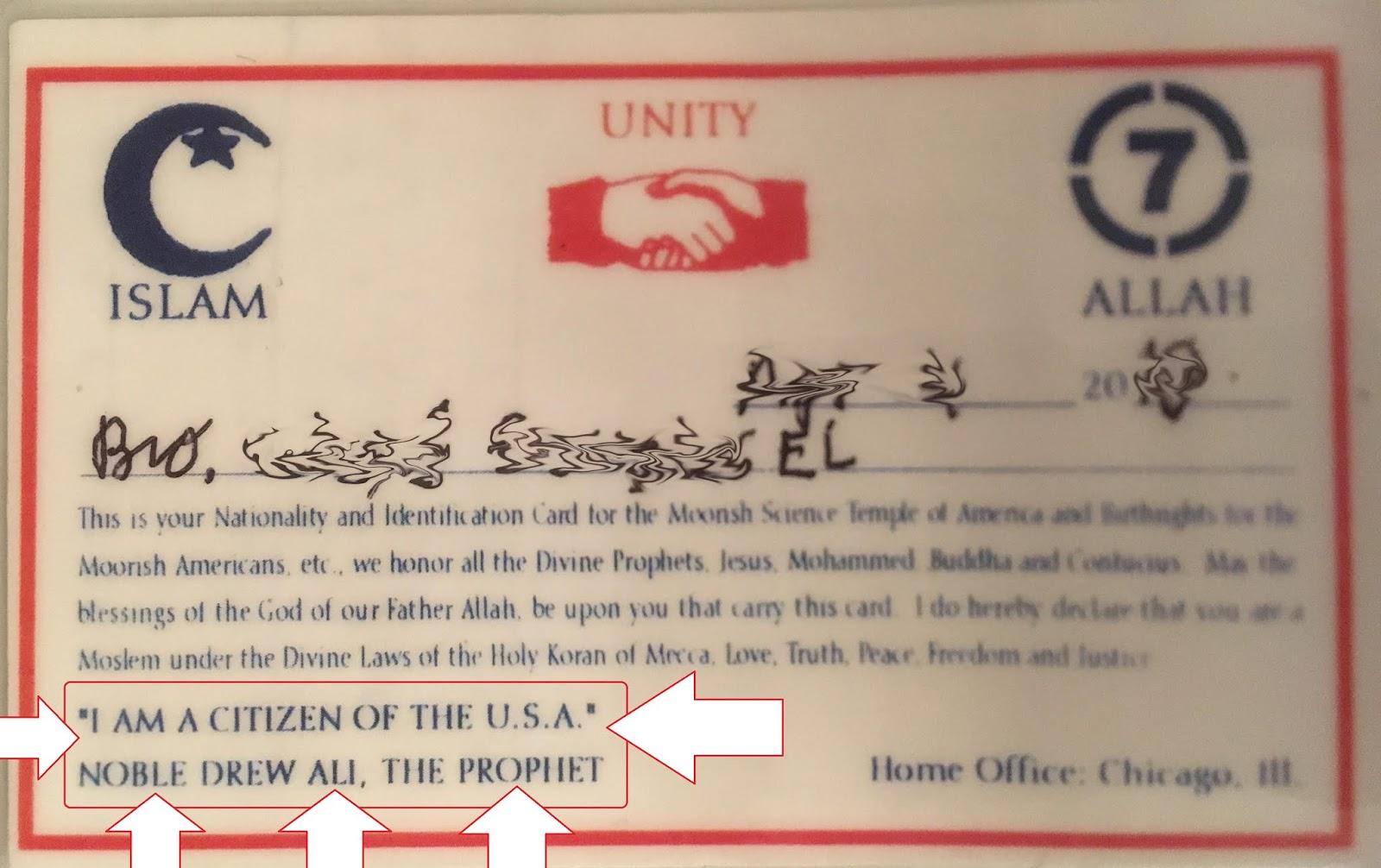 Moorish American National Government