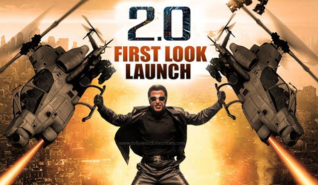 Rajinikanth 2.0 First Look Released
