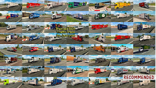 ets 2 painted bdf traffic pack v5.7 by jazzycat