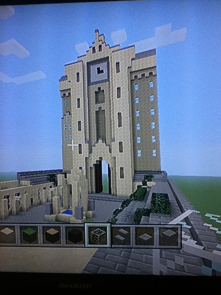 Hogwarts Project On Minecraft Clock Tower Phase 3