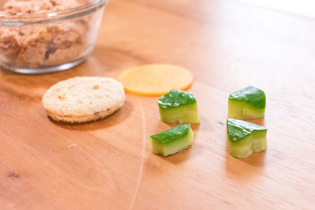 How to Make St. Patrick's Day Shamrock Cucumber Sandwiches