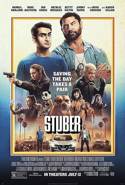 Sinopsis Film Stuber (2019) - Dave Bautista, Iko Uwais