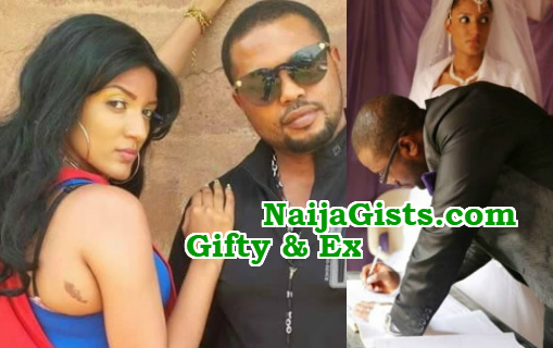 gifty powers ex husband