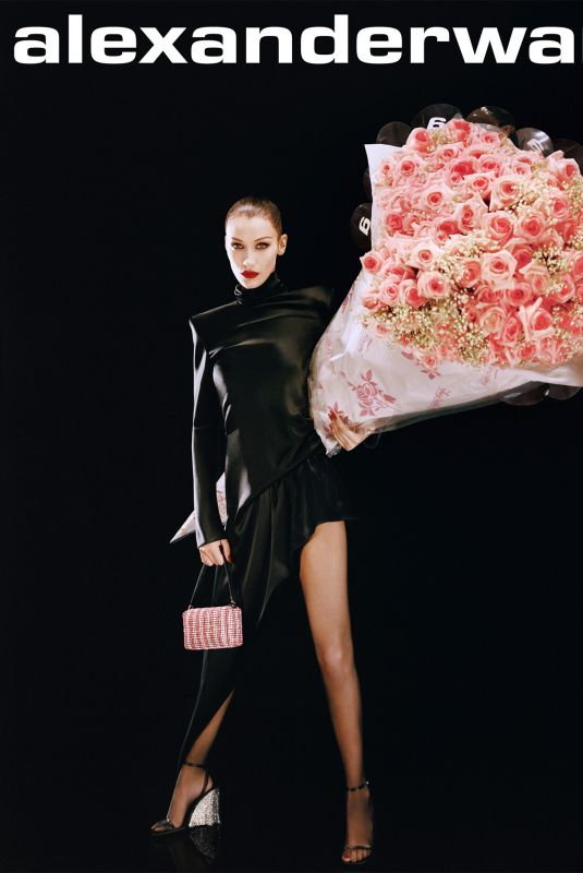 Bella Hadid Featured  for Alexander Wang Valentine's Day 2020 | Celebrity Photos Daily