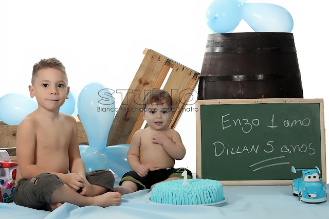 book smash the cake em estudio
