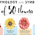 The Etymology and Symbolism of 50 Flowers #infographic