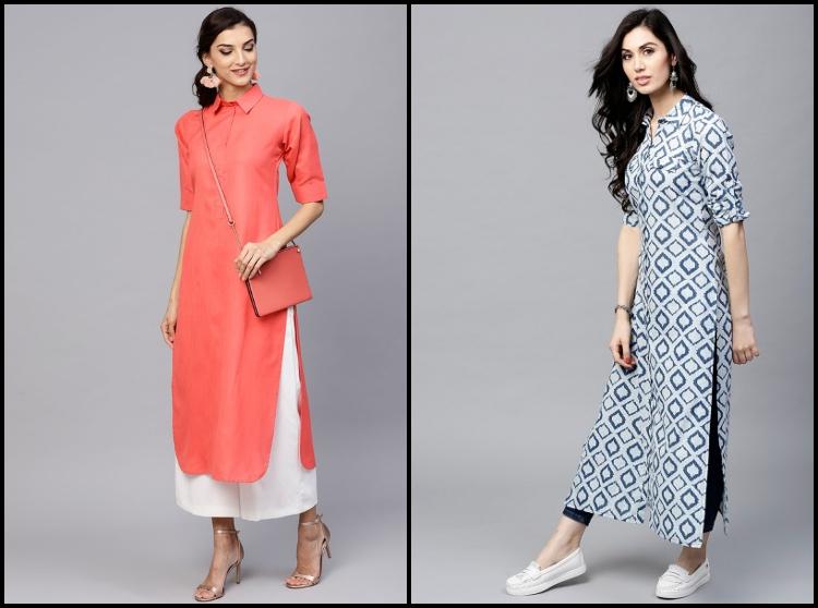 10 Trending Kurti Neck Designs Patterns For Women Elegant Eves