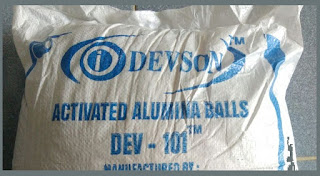 Hạt hút ẩm Nhôm Hoạt tính Activated Alumina Devson-101TM