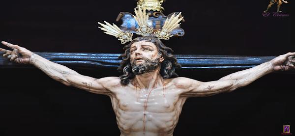 "Reportaje fotográfico del Santisimo Cristo del Perdon. Suena la marcha ""El sentir de Cádiz""."