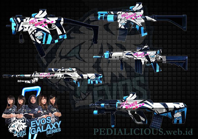 Evos Galaxy Series Point Blank Indonesia