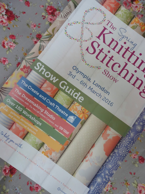Spring Knitting and Stitching Show, London Olympia - The Stylish Stitcher
