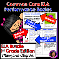 https://www.teacherspayteachers.com/Product/Marzano-Aligned-Common-Core-Performance-Scales-Bundle-Grade-1-2622065