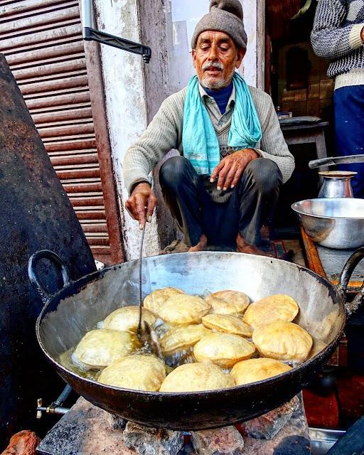 Agra street food