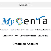 Hello there! Join me on the MyCENTA App and become a member of the largest and fastest growing community of teachers in India and UAE. Here, you can access learning resources, register for Micro-Credentials (MCs), view career opportunities, register for the assessment score for recruitment - the Teaching Quotient (TQ) and register for the annual competition - the Teaching Professionals Olympiad (TPO). REGISTRATIONS OPEN. What's NEW? Earn points for your activity on the app and make your mark on the Chalk Points leaderboard. Join today by clicking on this link:        https://m.centa.org/pwa/signup?referralCode=y9fASvrE