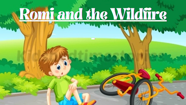 Romi and the Wildfire - Great Story by Ruskin Bond | Incredible Bedtime Story for Kids | Kidsbedtimestories