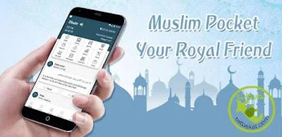 تحميل تطبيق Muslim Pocket - Prayer Times, Azan, Quran & Qibla للاندرويد