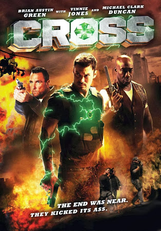 Poster Of Cross In Dual Audio Hindi English 300MB Compressed Small Size Pc Movie Free Download Only At worldfree4u.com