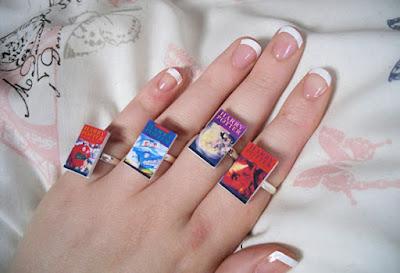 ring 4 - 10 Anéis para apaixonadas por livros